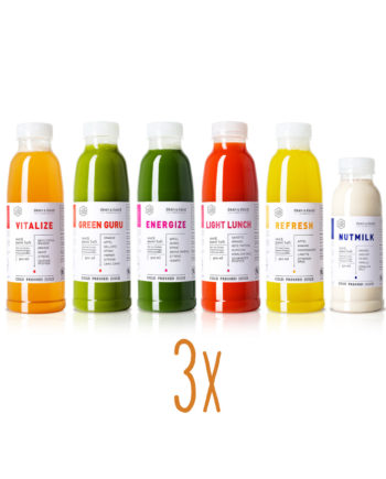 deananddavid Cold Pressed Juice 3 Tages Cleanse