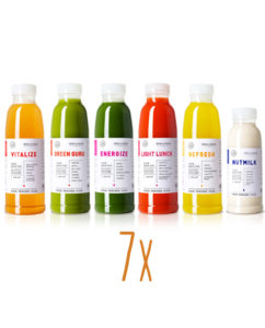 deananddavid Cold Pressed Juices 7 Tage Cleanse