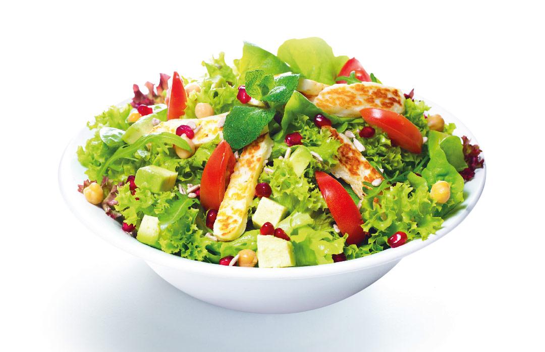 avocado-halloumi-salat